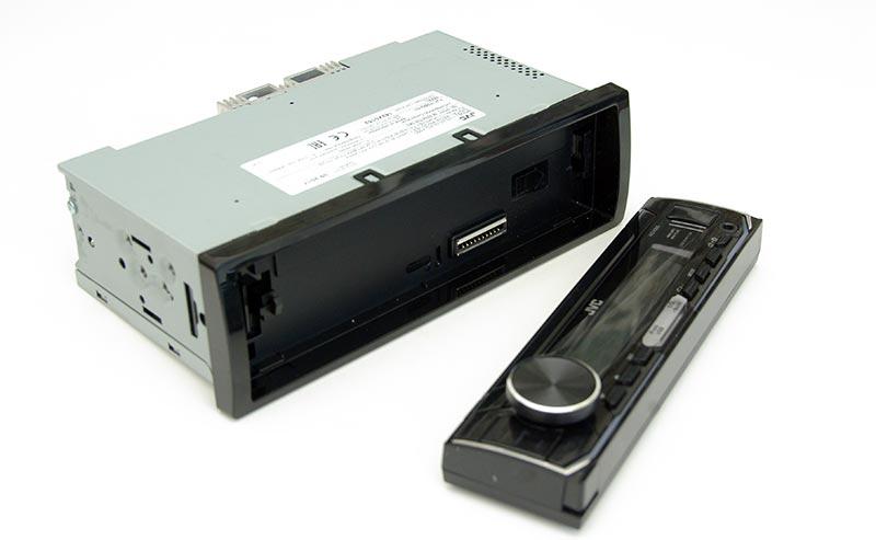 JVC KD-X355 – автомобильный USB-ресивер, тест
