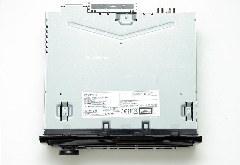 Kenwood KDC-320UI – автомобильный CD-ресивер с USB, тест