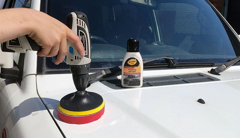 Как освежить краску на автомобиле?