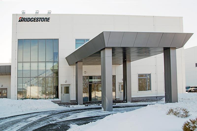 Экскурсия на завод по производству шин Bridgestone в Ульяновске.