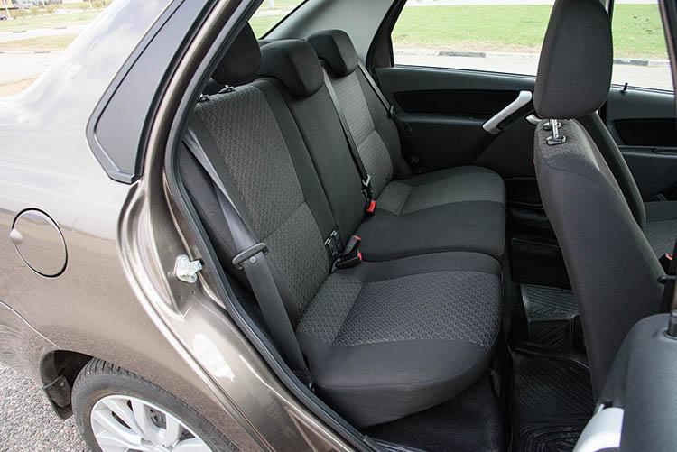 Datsun on-DO задние кресла