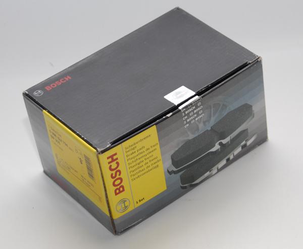 Тест передних тормозных колодок BOSCH на Ford Focus II