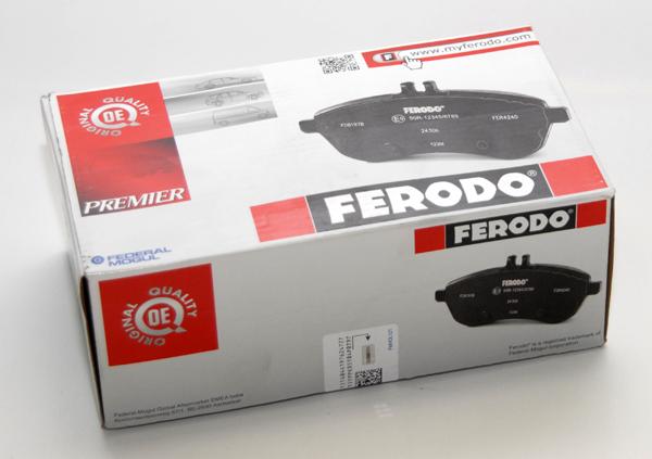 Тест передних тормозных колодок FERODO на Ford Focus II