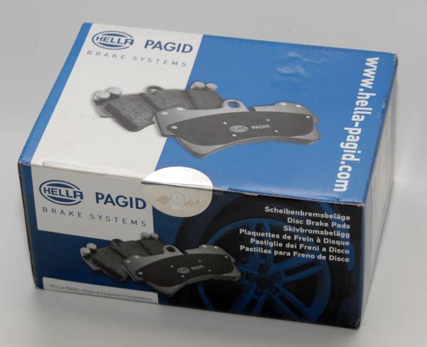 Тест передних тормозных колодок PAGID на Ford Focus II