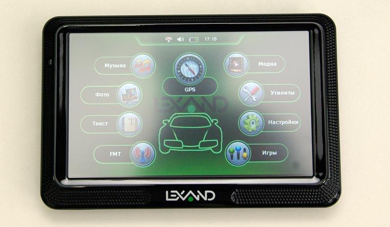 LEXAND Click&Drive CD5 HD – автомобильный навигатор, тест
