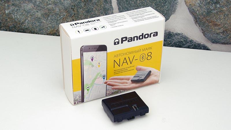 Pandora NAV-08 – автомобильный портативный маяк, обзор
