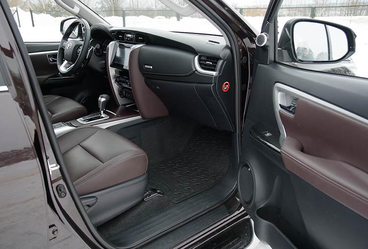 Тест-драйв Toyota Fortuner: время настоящих машин