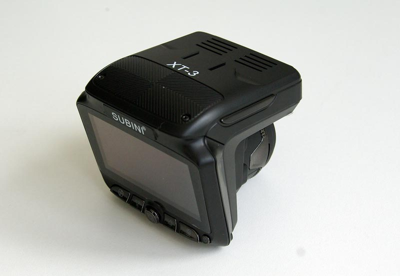 Subini XT-3 – автомобильный комбинированный видеорегистратор с радар-детектором, тест
