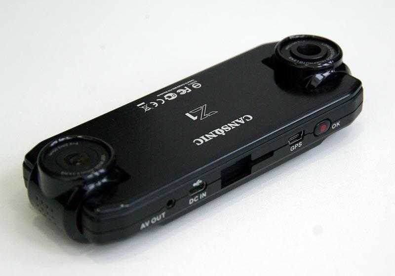CANSONIC Z1 ZOOM GPS – автомобильный видеорегистратор с двумя камерами, тест
