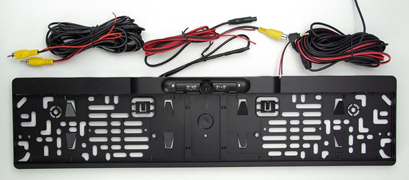 INTEGO AP-030 – рамка номерного знака с камерой, тест