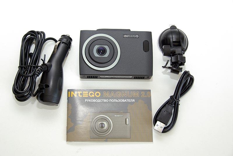 Intego Magnum 2.0 – автомобильный видеорегистратор, совмещенный с радар-детектором и GPS-информером, тест