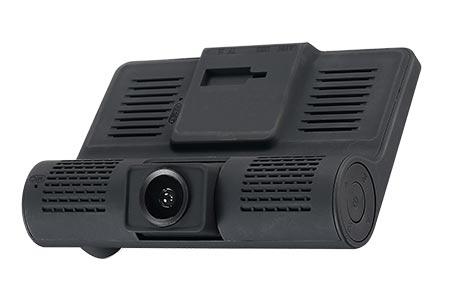 Intego VX-315DUAL – автомобильный двухканальный видеорегистратор с 3 камерами