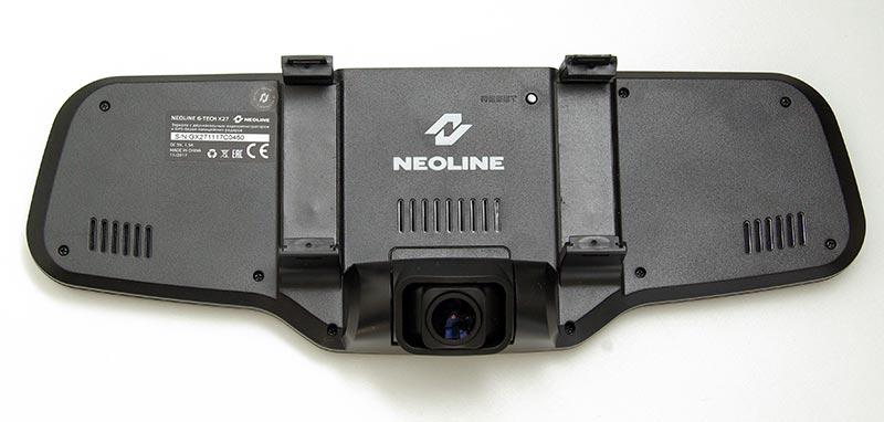 Neoline G-Tech X27 Dual – видеорегистратор встроенный в зеркало заднего вида с GPS информером и парковочной камерой, тест