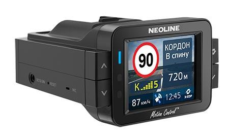 Обзор видеорегистраторов, комбинированных с радар-детектором, Neoline X-COP