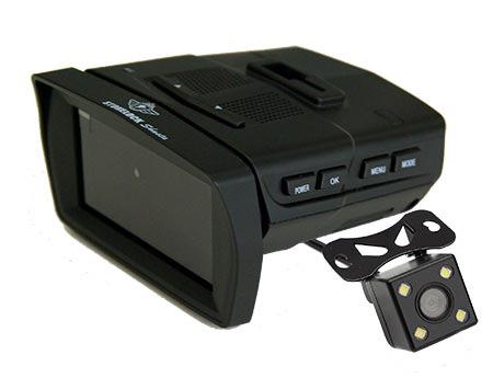 STONELOCK Shasta – автомобильный видеорегистратор с GPS-информером, совмещенный с радар-детектором и парковочной камерой, тест