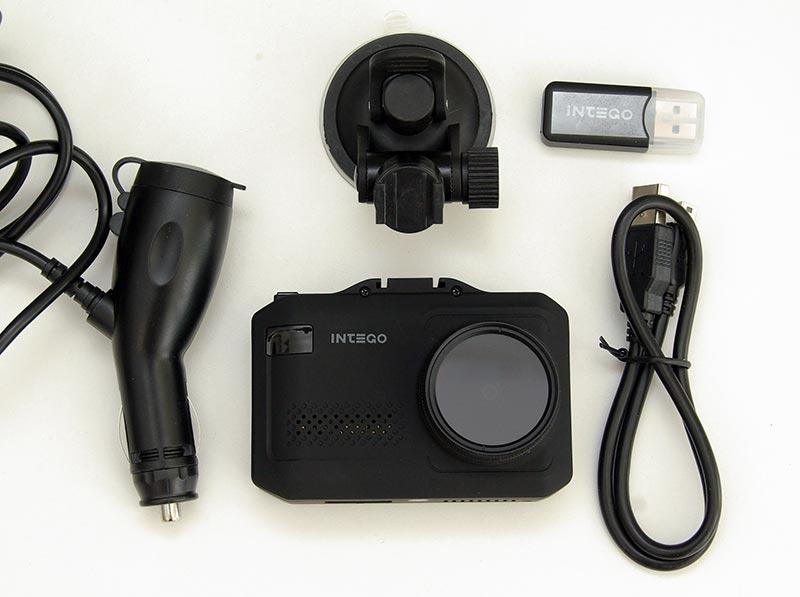 Intego VX-1000S – автомобильный видеорегистратор, совмещенный с радар-детектором, тест