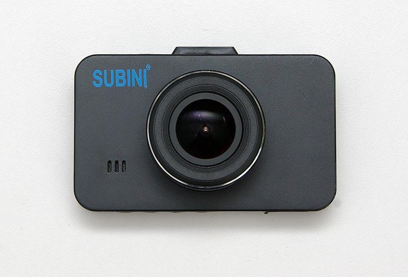 SUBINI GD-675RU – автомобильный  Full HD видеорегистратор, тест