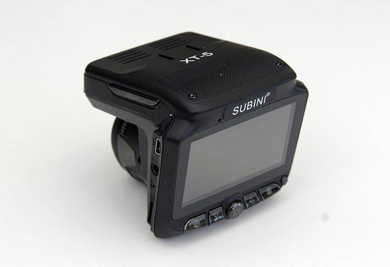 Subini XT-5 – автомобильный комбинированный видеорегистратор с радар-детектором и парковочной камерой, тест