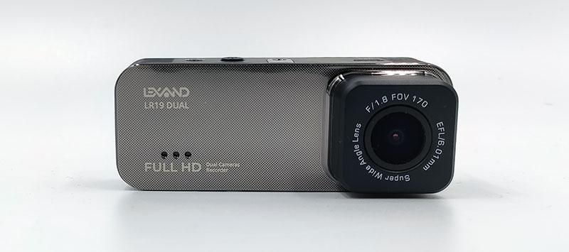 Lexand LR19 Dual – автомобильный двухканальный видеорегистратор, тест