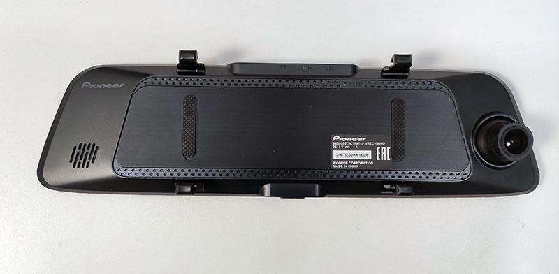 Pioneer VREC-150MD двухканальный регистратор в зеркале, тест