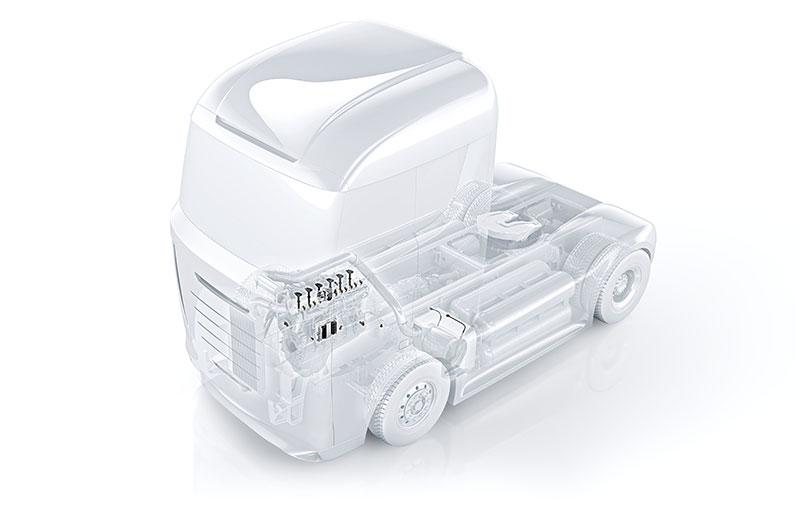 Bosch - эффективные силовые агрегаты для коммерческого транспорта