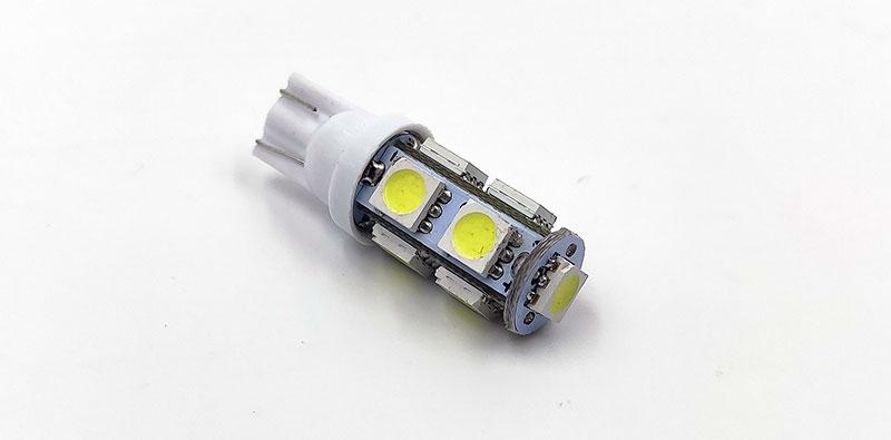 LLL Long Life Light T10 9SMD – светодиодная лампа под патрон Т10 цоколя W5W