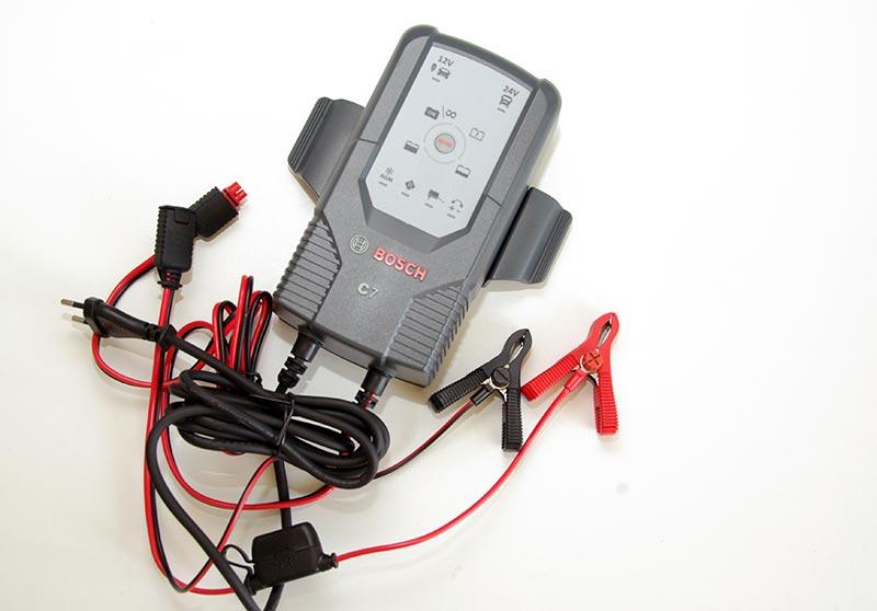 Bosch C7 – зарядное устройство для автомобильных аккумуляторов, тест