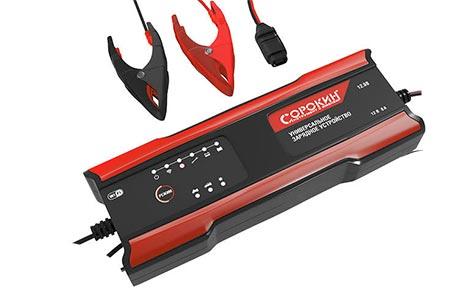 Тестируем «Сорокин» 12.98 – зарядное устройство с Wi-Fi для автомобильных АКБ