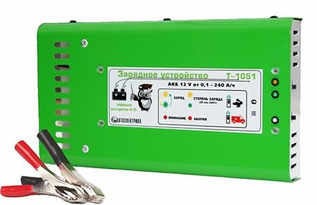 Тестируем «Автоэлектрика» Т-1051 – зарядное устройство для автомобильных АКБ
