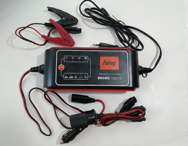 FUBAG Micro 160/12 – зарядное устройство для автомобильных аккумуляторов, тест