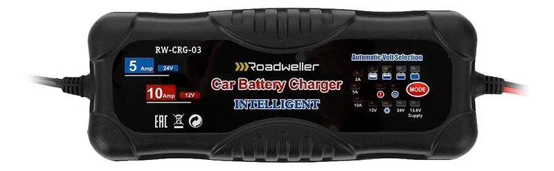Roadweller RW-CRG-03 – зарядное устройство для автомобильных аккумуляторов, тест
