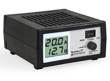 Тестируем «ВЫМПЕЛ-37» – зарядное устройство для автомобильных АКБ