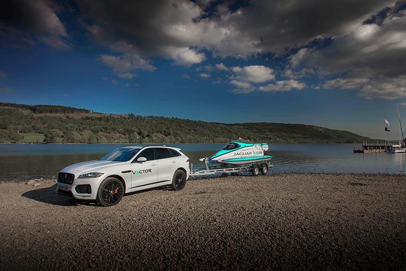 Команда Jaguar Vector Racing установила новый мировой рекорд скорости на воде