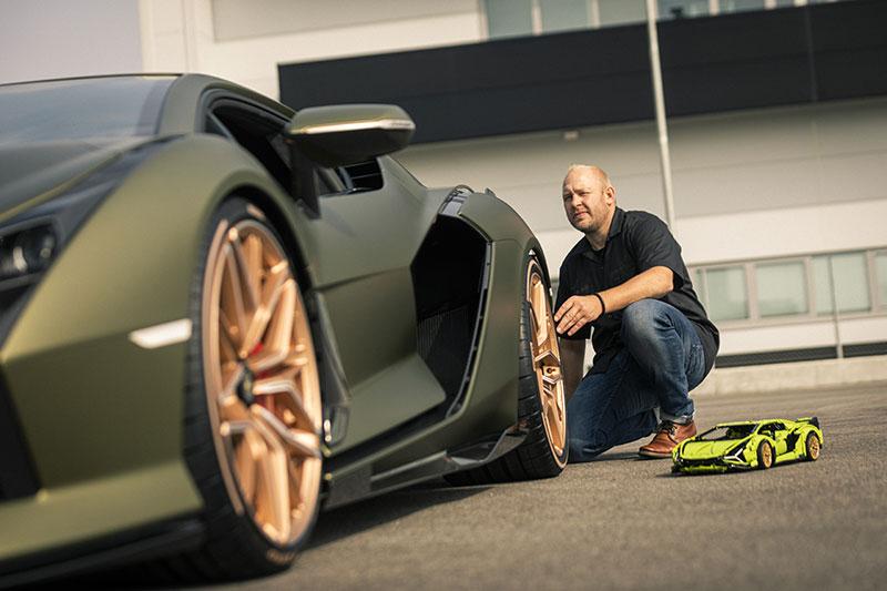 LEGO сделал конструктор-копию Lamborghini Sián FKP 37