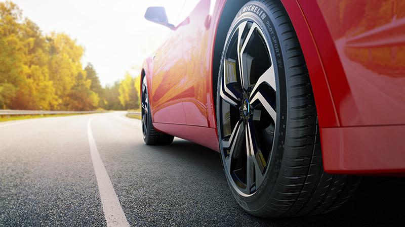 MICHELIN Pilot Sport EV – шина для электромобиля