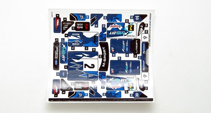 LEGO Speed Champions -  собираем Ford Fiesta M-Sport WRC (арт. 75885)
