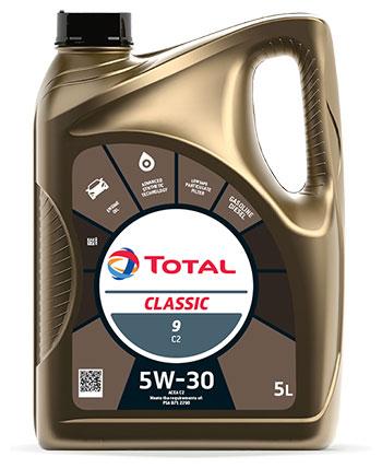 TOTAL  CLASSIC 9 C2-C3 5W30 – лучшая защита систем доочистки