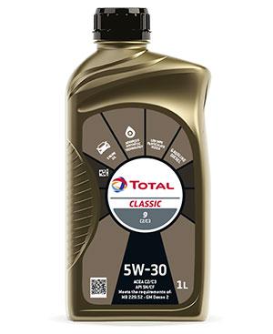 TOTAL  CLASSIC 9 C2 5W30 – экономия топлива