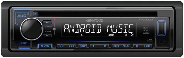 Kenwood KDC-120UB - автомобильный CD/USB ресивер.