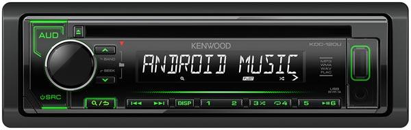 Kenwood KDC-120UG - автомобильный CD/USB ресивер.
