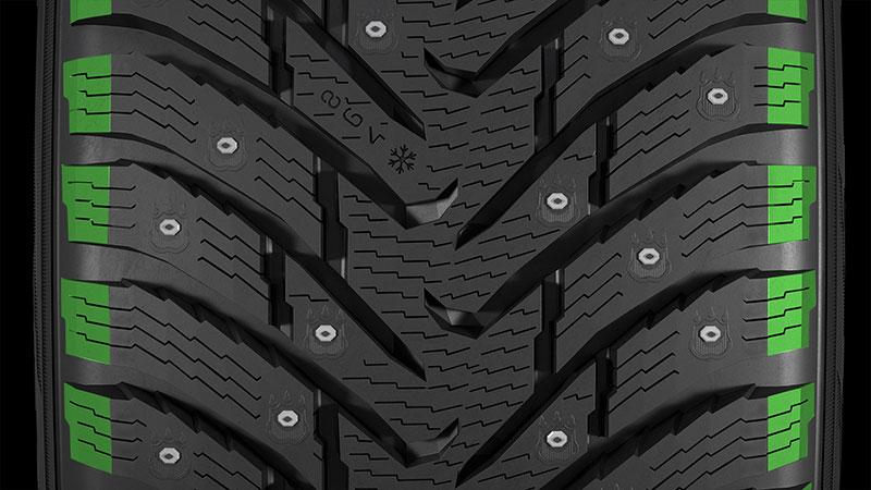 Обзор Nokian Nordman 8 – зимние шипованные шины