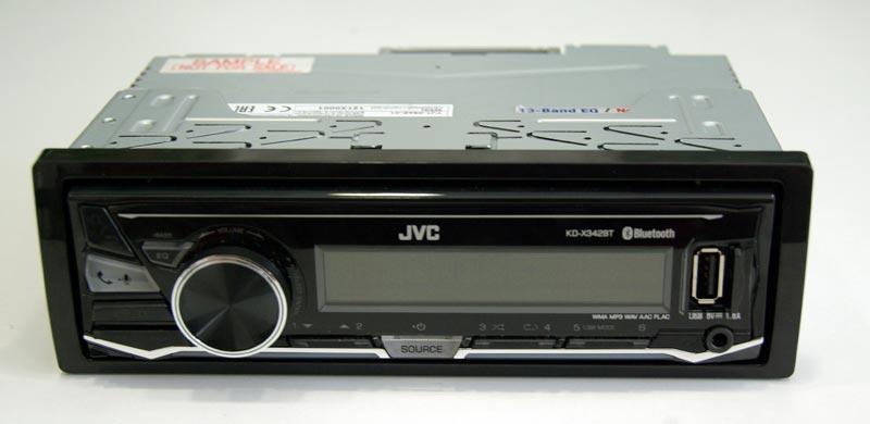 JVC KD-X342BT – автомобильный USB-ресивер с Bluetooth, тест