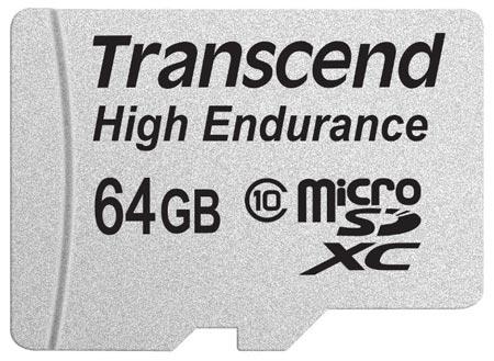 Карты памяти для видеорегистраторов Transcend High Endurance