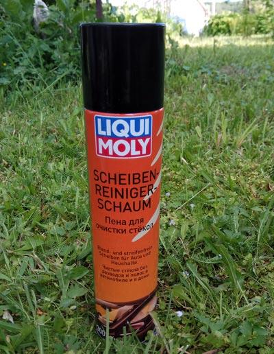 Liqui Moly Scheiben-Reiniger-Schaum – пена для очистки стекол