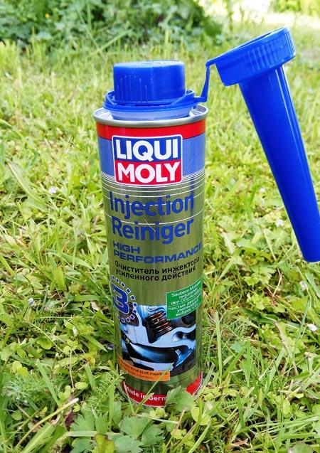 Liqui Moly Injection Reiniger High Performance – очиститель инжектора усиленного действия