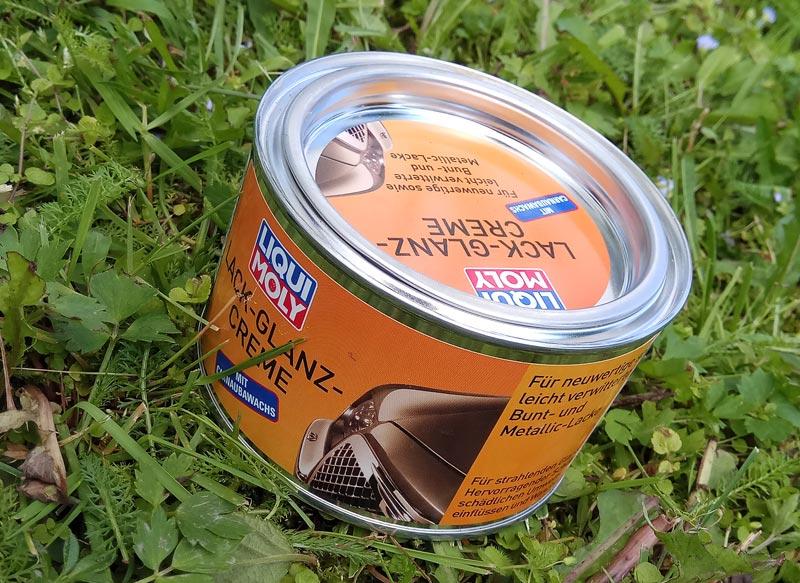 Liqui Moly Lack-Glanz-Creme – защитный полироль для глянцевых поверхностей
