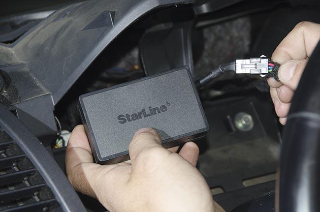 Starline m17 установка своими руками