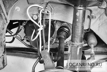 Замена амортизаторов на Renault Logan своими руками